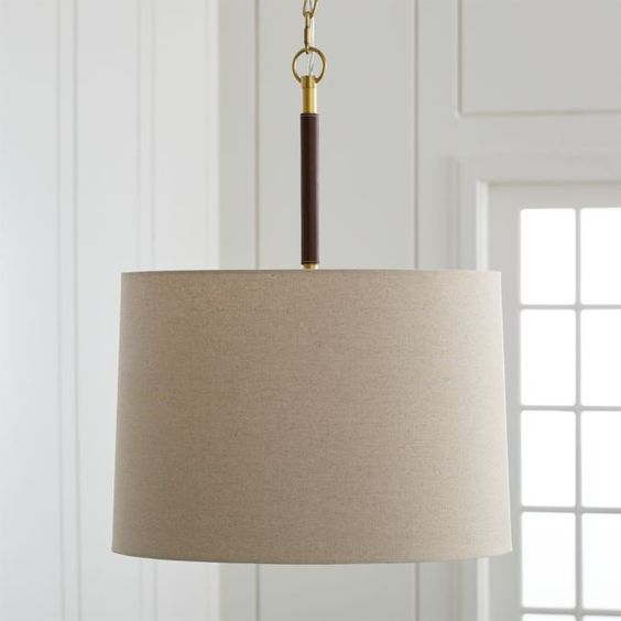 Leather Pendant Light