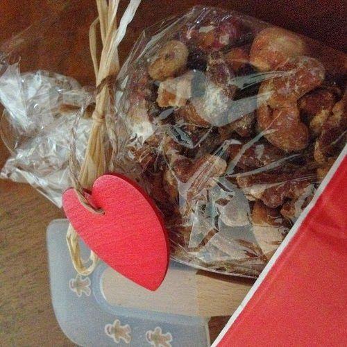 Adventswichteln am 1. Advent: Nussiges von backerine Taika und mein Rezept für Weihnachtsmandeln