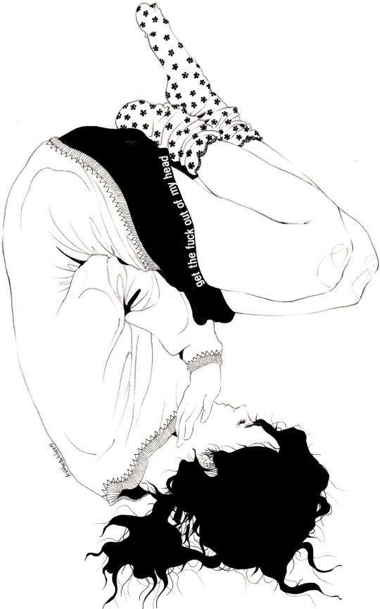 i / kaethe butcher #Art #Doodle: