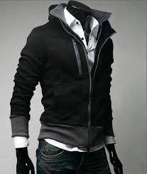 Resultado de imagen para ropa negra para hombre