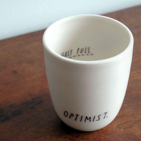 I'm an Optimist.
