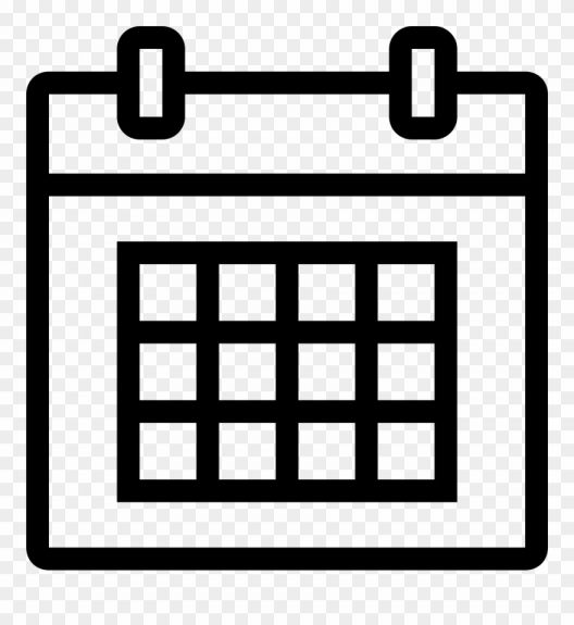 17 Calendar Icon White Png Calendar Png Calendar Icon Png Icons