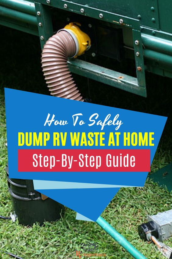 How To Dump Rv Waste At Home In 2020 Rv Teardrop Camping Rv Maintenance