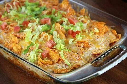 Chicken and tacos dish. It does look very healthy and yummy too.