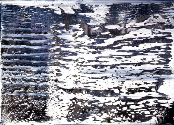 The painting, originally made in 1987, is one of Richter's popular…