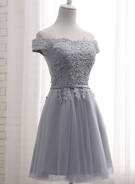Grey Short Bridesmaid Dress Grey Party Dress Grey Formal Dress 2018 Bemybridesmaid Grey Bridesmaid Dresses Short Grey Short Dress Short Bridesmaid Dresses