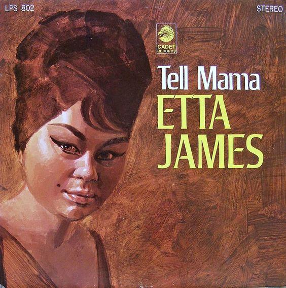 Etta James – Tell Mama (1968) Artwork By Bill Utterback Full Album