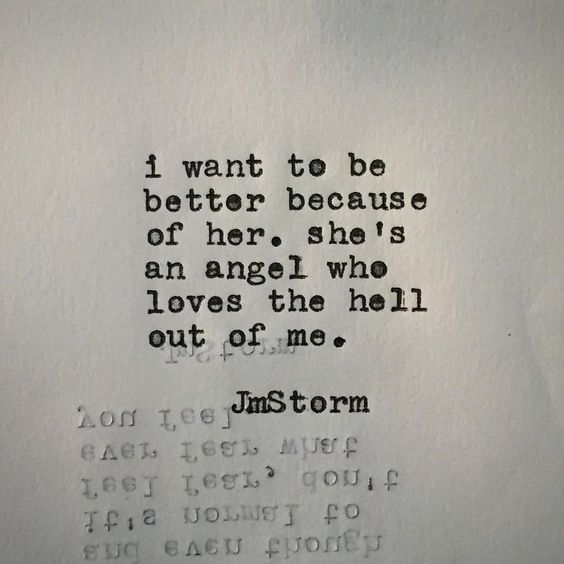 She's an angel  #jmstorm #jmstormquotes  #poetry #instagood #quotes #etsy…: