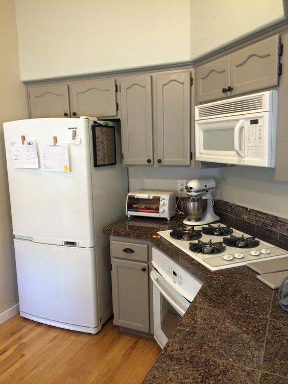 Oak Cabinets Pewter And Grey Cabinets On Pinterest