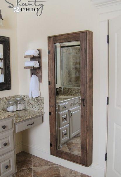 Diy Badezimmerschrank Badezimmerideen Diy Wohnkultur Wie Diy