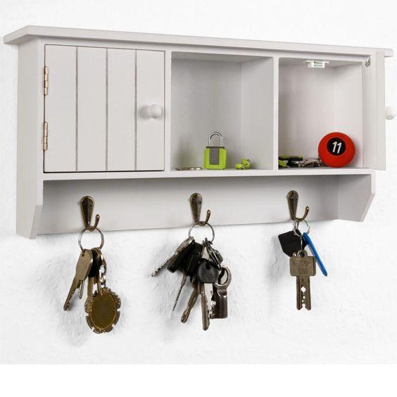 schl sselkasten holz schl sselbrett schl sselboard schl sselschrank schrank wei ideen. Black Bedroom Furniture Sets. Home Design Ideas