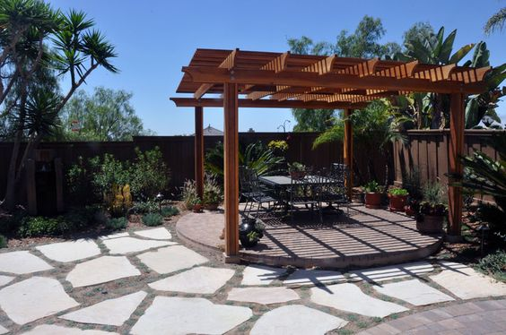Backyard Landscape Design After