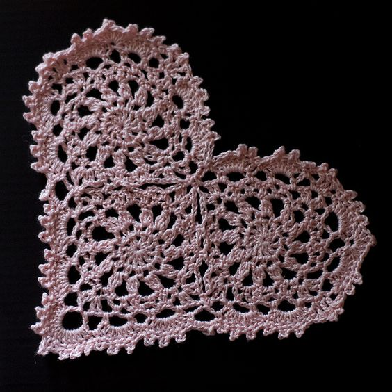 Crochet Heart - from Sew I See