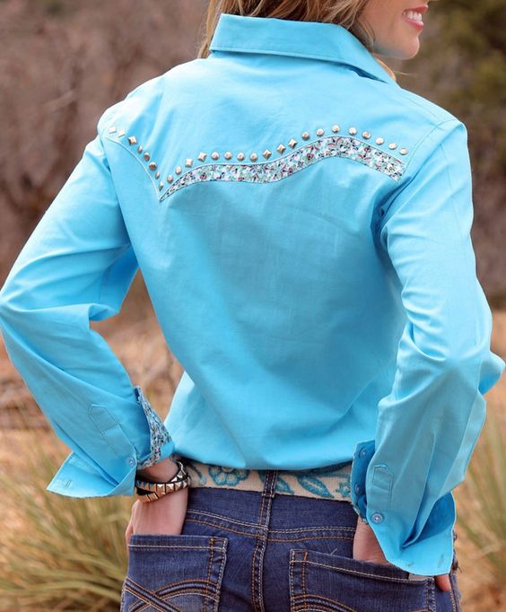 Jewelry rodeo and shirts on pinterest for Ranch dress n rodeo shirts