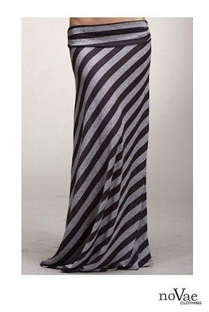 $24 Diagonal Stripes are so Flattering to the Hips!