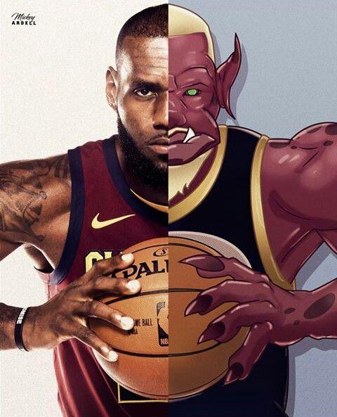Lj 23 Possible Character For Space Jam 2 Basketball Drawings Nba Basketball Art Basketball Players Nba