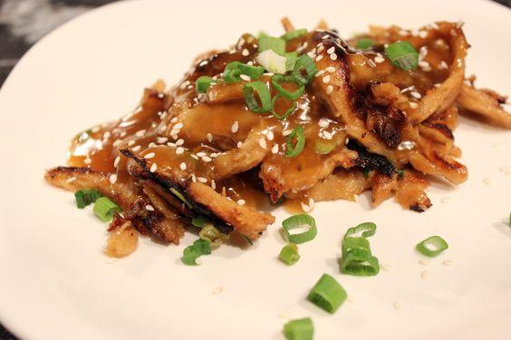 Asian Orange 'Chicken' | The Gluten Free Vegan