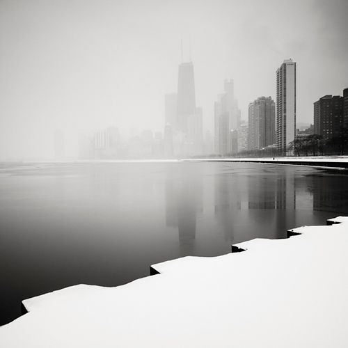Chicago Skyline, Study 6 - Chicago, Illinois, USA, 2008  Josef Hoflehner