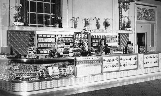 Movie Theatre Concession Stand San Diego 1940 S The