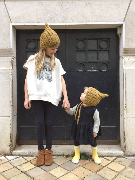 Adorable Mini-Street Style featuring our Back Zip Bootie! via Milk Magazine