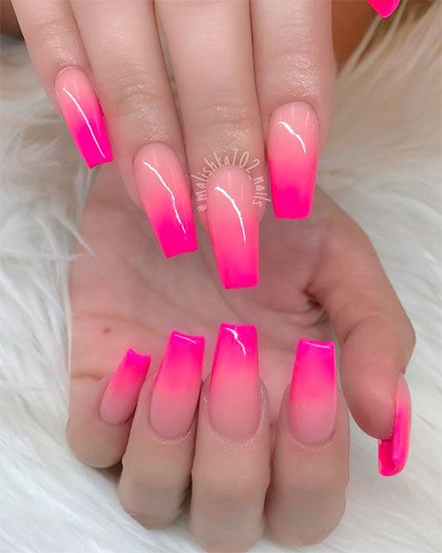 Best Summer Ombre Nails In 2019 Stylish Belles In 2020 Ombre Acrylic Nails Ombre Nail Art Designs Ombre Nail Designs