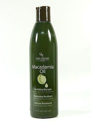 HAIR CHEMIST MACADAMIA OIL REVITALIZING SHAMPOO 10.oz free shippng