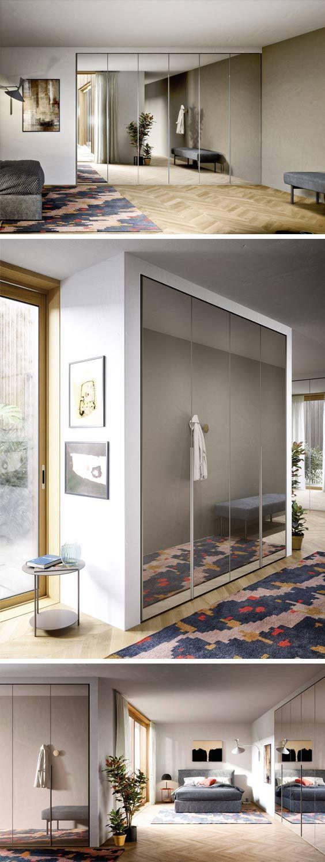 Der Design Kleiderschrank Von Novamobili Mit Spiegel Oder