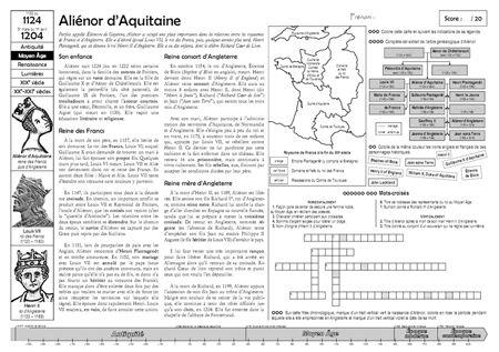 Défi sur Aliénor d'Aquitaine - Quoi de neuf ?