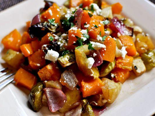 Warm Autumn Salad
