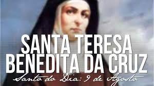 LITORAL CENTRO - COMUNICAÇÃO E IMAGEM: Traços psicológicos de Santa Teresa Benedita da Cr...