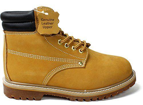 """New Men/'s Wolverine W01191 Wheat 6/"""" waterproof soft toe work boots"""
