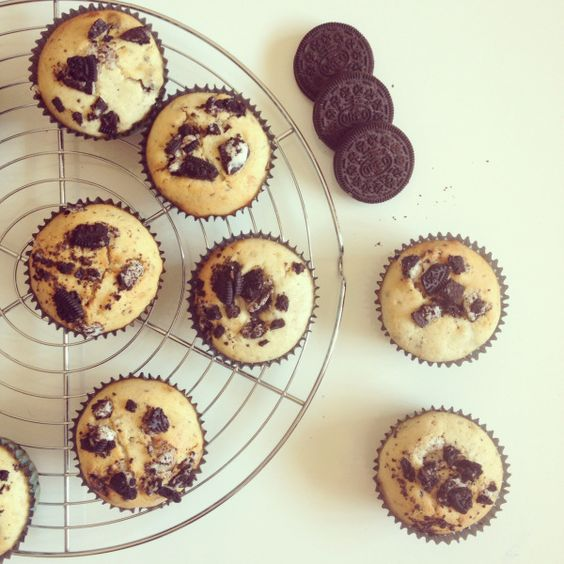 Muffins oreo / Nutella