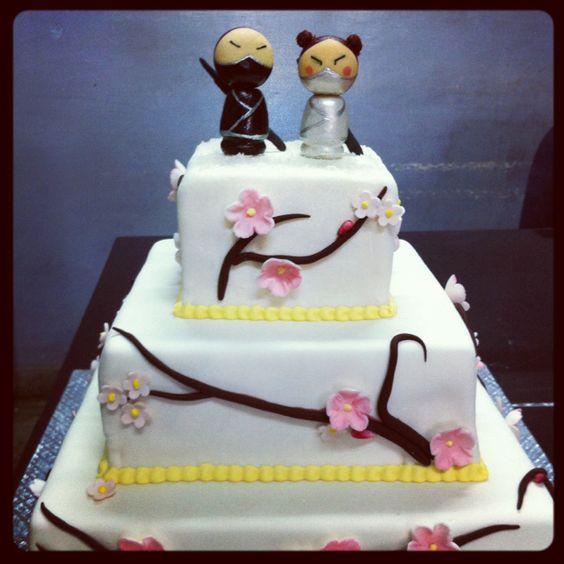 Asian Cake Toppers For Wedding Cakes Asian Cake Topper Kor