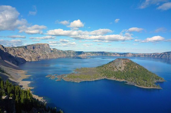 16. Crater Lake National Park, Oregon #camping #hiking #parks http://greatist.com/fitness/best-camping-united-states