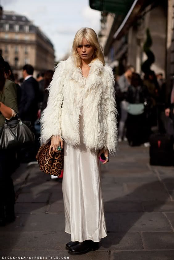 How To Wear The Winter White Fashion