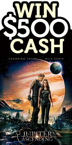 #RePin and #Win $500 #Cash With Jupiter Ascending! #competition #money