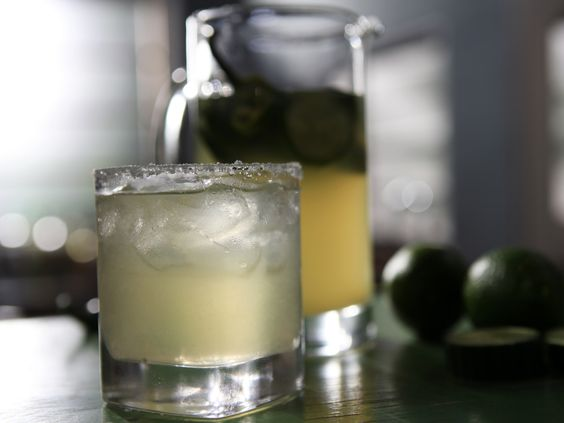 Cucumber Jalapeno Margarita from Michael Symon