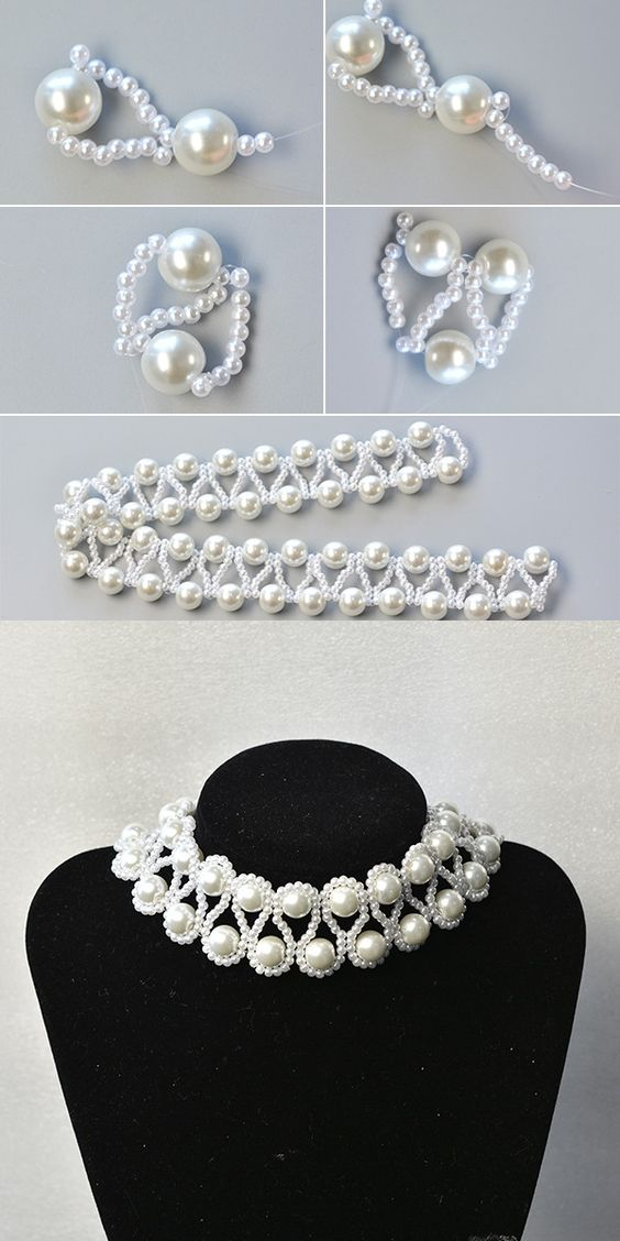 Like the pearl beaded necklace? The tutorial will be published by LC.Pandahall.com: