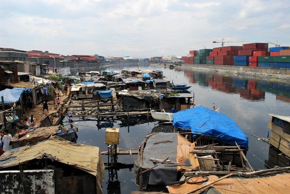 """Manila port, There is nothing new about the issue of """"squatting"""". It has been a phenomenon in Metro Manila for more than 50 years now.  Squatting became a stark phenomenon in Manila after the Second World War, when a large number of war victims built houses around Intramuros and Tondo Foreshoreland, which were reserved ."""