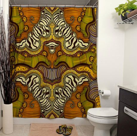 curtains ideas » african shower curtain - inspiring pictures of