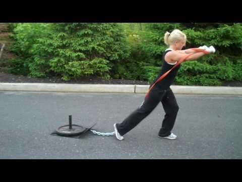 Push, Pull, And Perspire: 7 Sled Workouts To Leave You In A Heap!