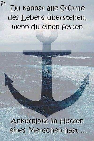 ...Du kannst alle Stürme des Lebens.......!!!