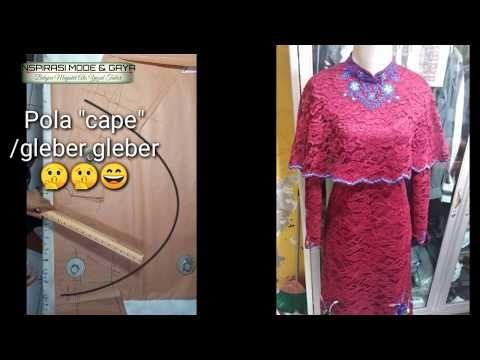 Cara Mudah Membuat Pola Cape Yazidtailor Youtube Membuat Baju Pola Pakaian Wanita
