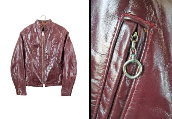 Hey, I found this really awesome Etsy listing at https://www.etsy.com/jp/listing/176363648/vintage-70s-motorcycle-jacket-cafe-racer