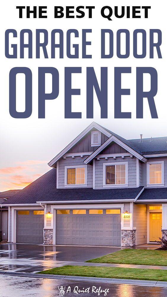 A Quiet Refuge Your Friendly Neighborhood Soundproofing Experts In 2020 Quiet Garage Door Opener Garage Doors Sound Proofing