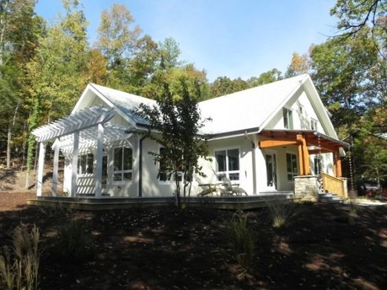A new Passive House bungalow in North Carolina.