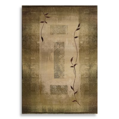 Sphinx by Oriental Weavers Generations Area Rug in Green/Climbing Vine - BedBathandBeyond.com