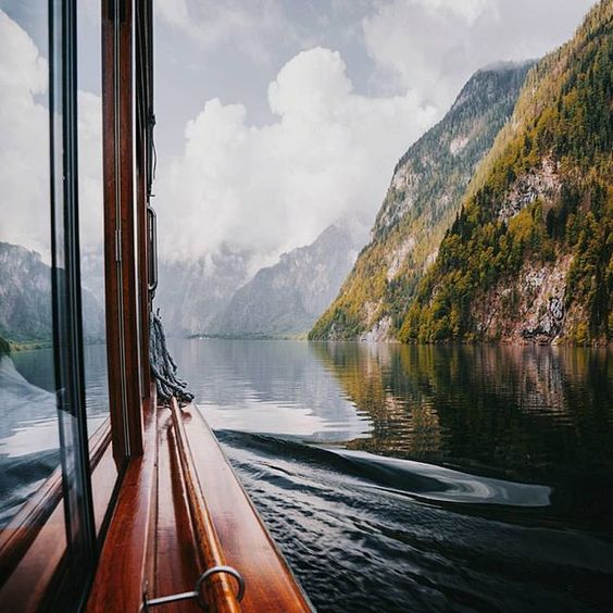 Floating through Königssee, in the far southeast of Germany.  Photo by @daniel_ernst  ... | Use Instagram online! Websta is the Best Instagram Web Viewer!