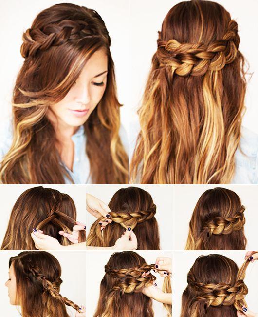 Lange Haare Frisuren Selber Machen