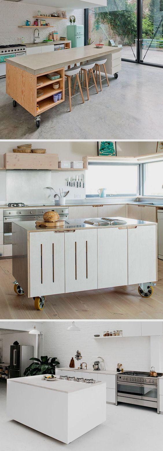 29 Amazing Contemporary Kitchens Modern Kitchen Island Kitchen Interior Modern Kitchen